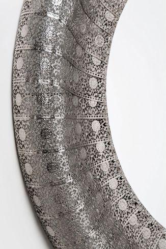 kare design spiegel orient zilver 80cm. Black Bedroom Furniture Sets. Home Design Ideas